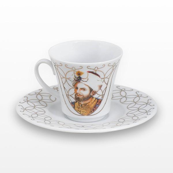 Kanuni Sultan Süleyman İkili Fincan Seti