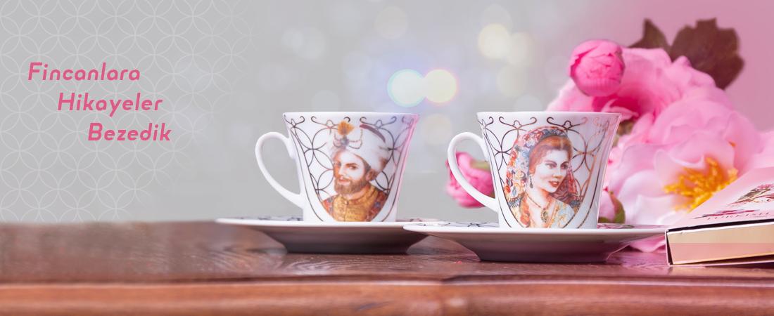 Buselique - Hediyelik Eşya - Türk Kahvesi - Kahve Fincanı